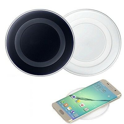 Wireless Charging Pad Qi Charger For Samsung Galaxy S6 S7 Edge Note 5 6