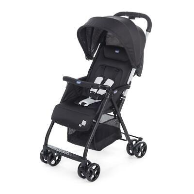 Chicco Ohlala Stroller (Black) Super Compact & Lightweight - RRP £100