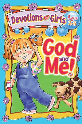 God and Me! Devotions for Girls Ages 2-5 (God & Me!) - Spiral-bound NEW Klammer,