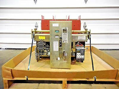Mo-2031, Siemens-Allis La-3200A Ac Power Air Circuit Breaker W/ Static Trip Iii