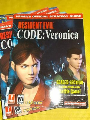 RESIDENT EVIL CODE Veronica - official Strategy Guide - englisch