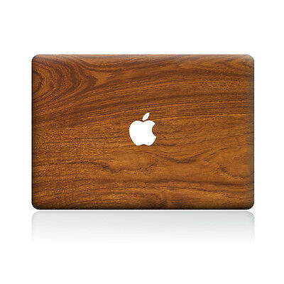 Wooden Wood Pattern Sticker Laptop MAC Decal for Apple Macbook Pro Air Retina