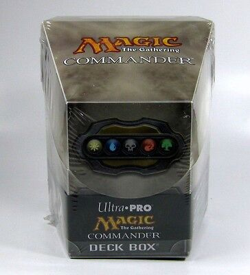 Ultra Pro Commander Deck Box - Artefakt - Deckbox EDH MtG Magic the Gathering