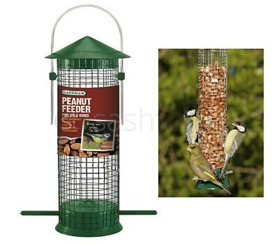 Gardman Hanging Wild Bird Peanut Feeder Feeding Station For Birds Outdoor Garden