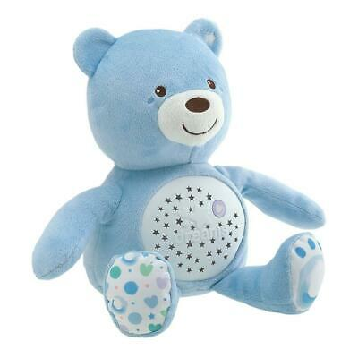 Chicco Baby Bear Night Light (Blue) - With Lights & Music