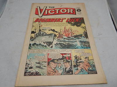 THE VICTOR COMIC No 589 ~June 3rd 1972 ~ Beginner's Luck!