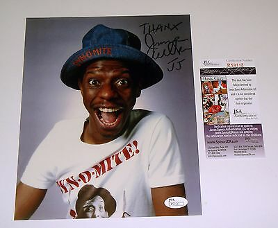 Good Times TV Show Jimmie Walker Signed 8x10 Color Photo JSA Cert FREE SHIPPING