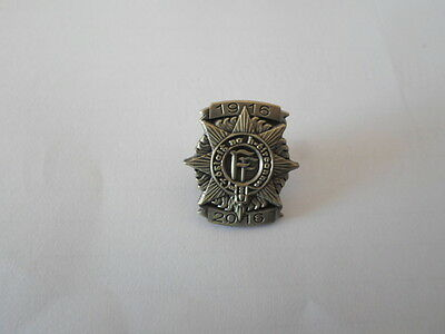 Ireland Eire Oglaigh Irish Army 1916 2016 Easter Rising 100 Year Lapel Pin Badge