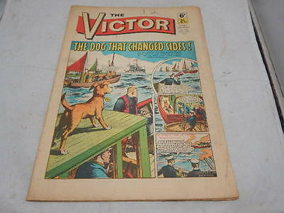 THE VICTOR COMIC No 521 ~ Feb 13th 1971 ~ The Dog That Changed Sides!