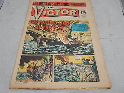 THE VICTOR COMIC No 537 ~ June 5th 1971 ~ The Destruction Of The U-27