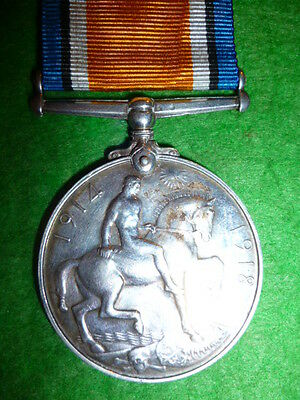 KIA / Killed WW1 War Medal to Wisenden 43rd Bn. Canadian (Cameron Highlanders)