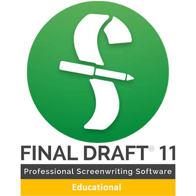 Final Draft 11 Screenwriting Software Electronic Delivery (ESD)