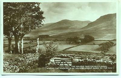 Hostel Bryansford Mourne Mountains Co. Down 1936 Valentine's real photo postcard