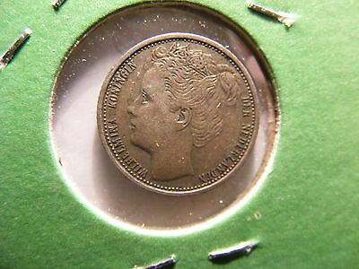 Netherlands 10 Cents, 1903, VF, KM#103, One Year Type Coin