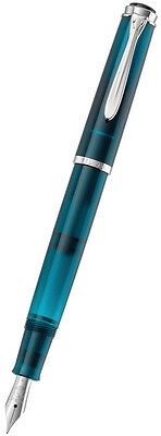Pelikan Classic M 205 Fountain Pen Medium - Aquamarine