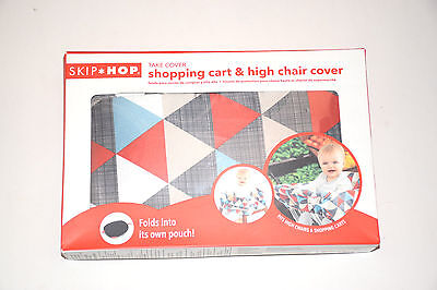 Skip Hop Grocery Shopping Cart, High Chair Cover Multi-colored  , MSRP $24.99