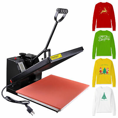 "16""x20"" Heat Platen Press Machine Digital Sublimation Transfer Printing T-shirt"