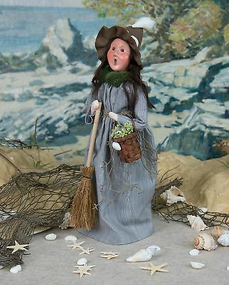 2017 Byers Choice Nautical Beach Witch w/ New Specialty Character Signed J Byers