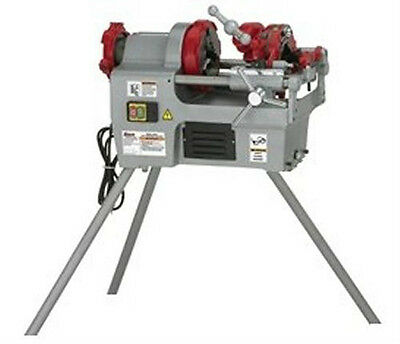 """240v 1/2""""-2"""" BSPT Pipe Threading Threader Machine With Stand (PT4)"""