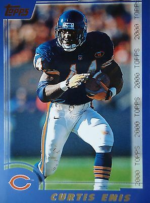 NFL 222 Curtis Enis Chicago Bears Topps 2000
