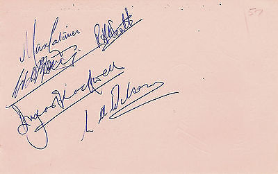 SCOTLAND TEAM 1962 (v WALES) ALBUM PAGES SIGNED