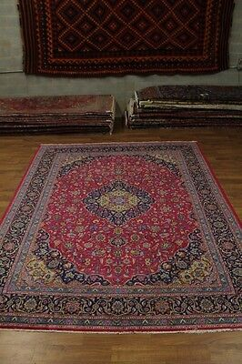 Spectacular Handmade Semi Antique Kashmar Persian Rug Oriental Area Carpet 10X13
