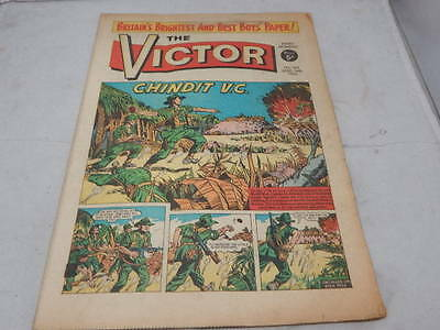 THE VICTOR COMIC No 160 ~ Mar 14th 1964 ~ Chindit V.C.
