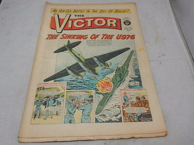 THE VICTOR COMIC No 173 ~ June 13th 1964 ~ The Sinking Of The U976
