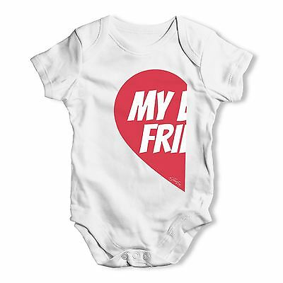 Twisted Envy My Best Friend #1 Baby Unisex Funny Baby Grow Bodysuit