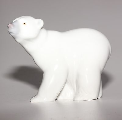 Lladro Animal, Attentive Polar Bear, 1207