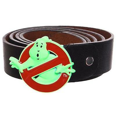 Ghostbusters - Classic Logo Belt With Glow In The Dark Buckle - New & Official