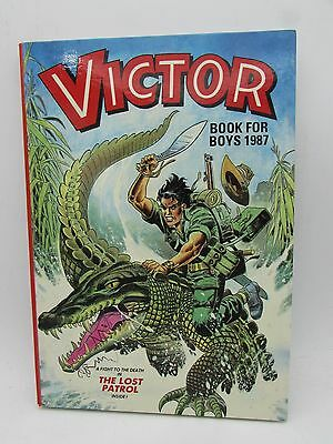 VICTOR Book for Boys 1987 Annual - Excellent - Tough of the Track Ripping Yarns