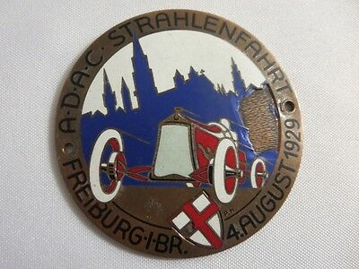 Wuerttemberg Heimat Rallye 1960 Badge Car Grill Badge Emblem Adac Germany Car Badges