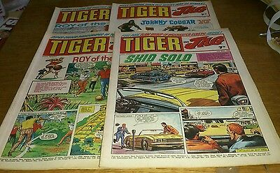 4 Tiger And Jag Comics, 1969