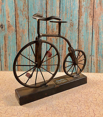 Vintage Metal Advertising Cycle for Novelon The Pill for Cycle Control