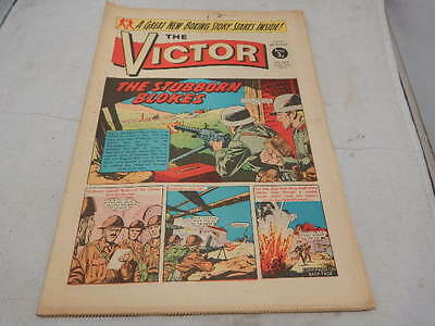 THE VICTOR COMIC No 602 ~ Sept 2nd 1972 ~ The Stubborn Blokes