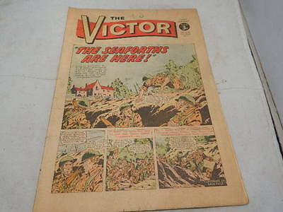 THE VICTOR COMIC No 610 ~ Oct 28th 1972 ~ The Seaforths Are Here