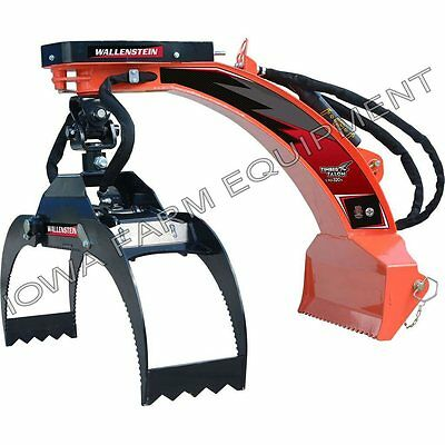 """Log Grapple, Bypass, 48"""" Wallenstein LXG320S, Tractor 3-Point"""