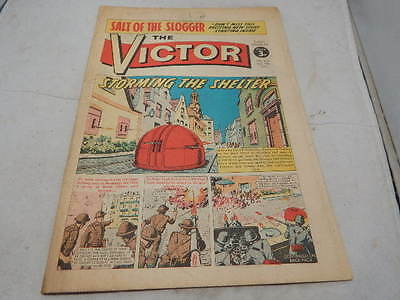 THE VICTOR COMIC No 616 ~ Dec 9th 1972 ~ Storming The Shelter