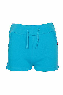 Girls Kids Casual Summer Holiday Shorts Jersey Tie Hotpants 7-13 years