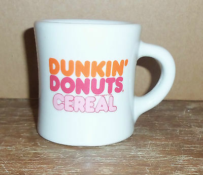 Dunkin' Donuts Cereal Heavy Duty Restaurant Ware Coffee Cup Victor Usa Vintage!