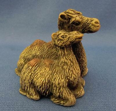 Mother & Baby Camel Figurine