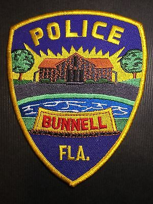Bunnell Florida Police  Shoulder Patch