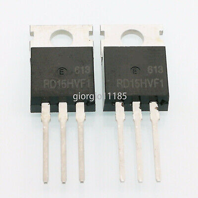 2 pcs RD15HVF1 TO-220 MOSFET Transistors New