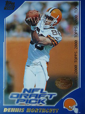 NFL 396 Dennis Northcutt Cleveland Browns Topps Rookie 2000 Draft Pick