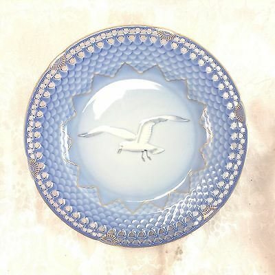 Bing & Grondahl Limited Edition Seagull Anniversary Plate Reticulated Copenhagen