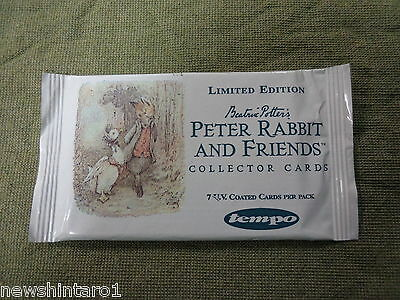 #d505.  Unopened 1996  Australian Tempo Peter Rabbit Collector Cards