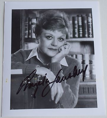 Angela Lansbury SIGNED Official Photo Card Autograph Murder She Wrote AFTAL COA