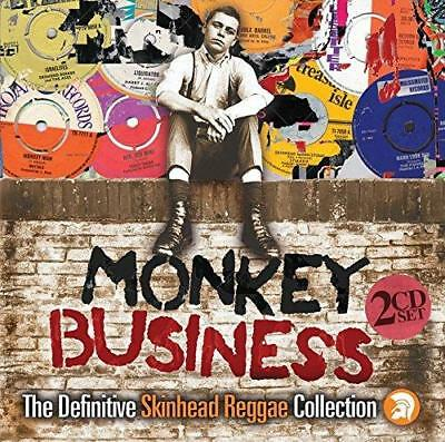 Monkey Business: The Definitive Skinhead Reggae Collection - Various (NEW 2CD)