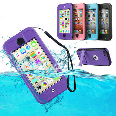 For Apple iPod touch 5/6th Generation Hybrid Waterproof Shockproof  Case Cover